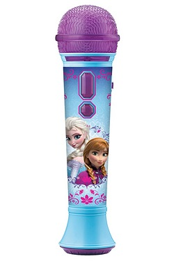 Frozen In line MP3 Microphone