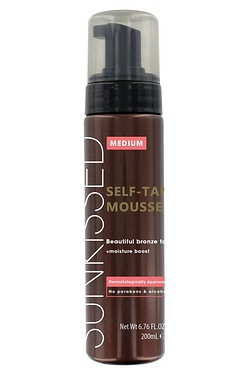 Sunkissed Instant Tan Mousse - Medi...
