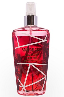 Soul Cal Body Mist Raspberry and Lo...
