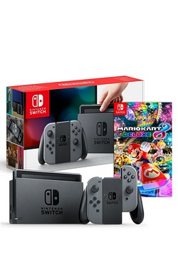 Nintendo Switch Grey Console + Mari...