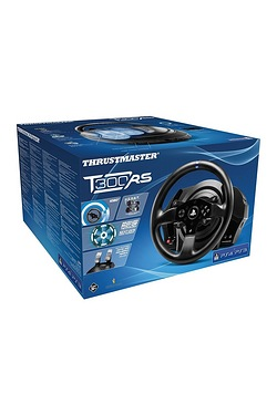 Thrustmaster: T300 RS Wheel and Ped...