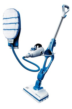 Black and Decker 9-In-1 Steam Mop With SteaMitt
