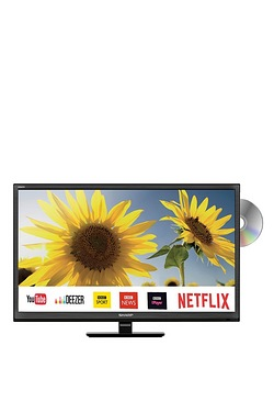 "Sharp 24"" Smart LED TV/DVD"