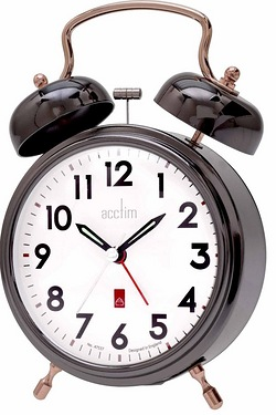 Rover Double Bell Alarm Clock