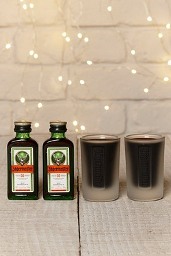 Jagermeister and Shots Pack