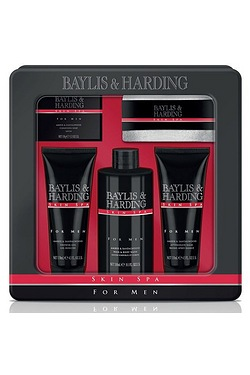 Baylis and Harding Men's Skin Spa 5 Piece Tin Set