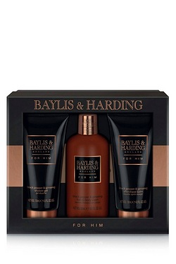 Baylis and Harding Black Pepper and Ginseng Mens Tin Set