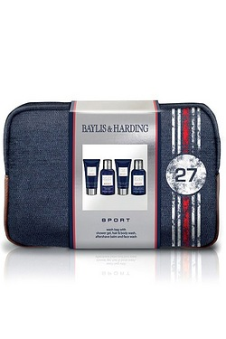 Baylis and Harding Mens Sport Washbag Set