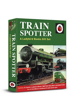 Ladybird Train Spotter Gift Set