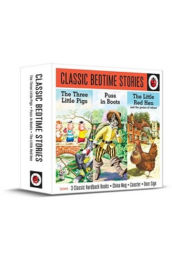 Ladybird Classic Bedtime Stories Gift - Three Little Pigs