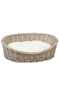 Banbury and Co Oval Willow Basket w...