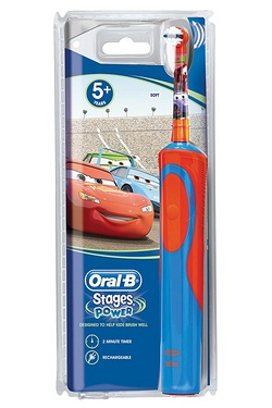 Oral B Kids Disney Cars Rechargeable Toothbrush