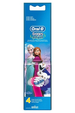 Oral B Kids Disney Frozen Brush Heads - Pack of 4