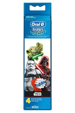Oral B Kids Disney Star Wars Brush Heads - Pack of 4