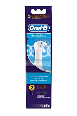 Oral-B Interspace Heads - Pack of 2