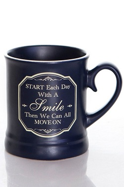 Start Each Day... - Victoriana Mug