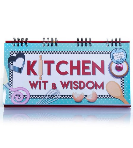 Image for Kitchen Wit And Wisdom Flip Book from ace