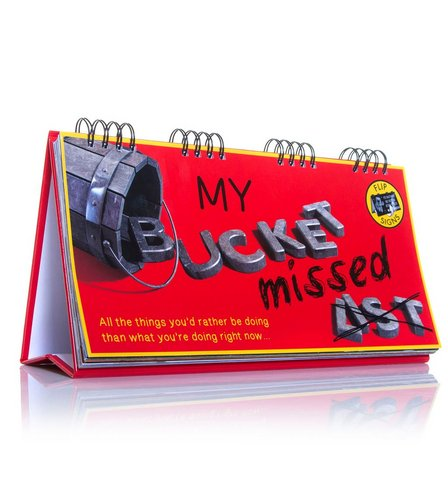 Image for Bucket Missed List Flip Book from ace