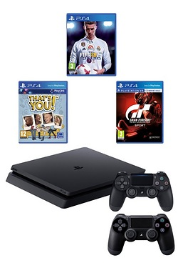PS4 500GB FIFA Bundle with Extra Co...