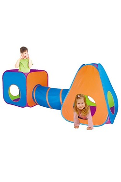 3 in 1 Adventure Play Tent Set