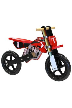 Wooden Motorbike Balance Training Bike