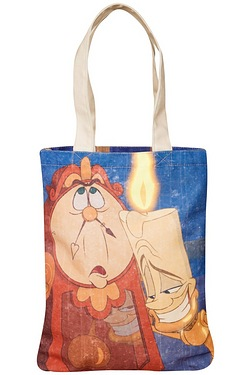 Beauty and the Beast Canvas Tote Bag