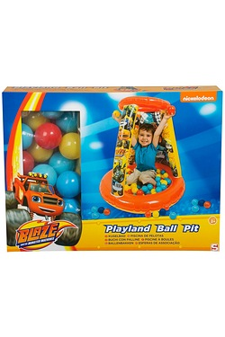 Blaze Playland Round Ball Pit with 20 Balls