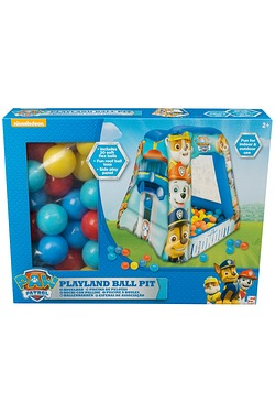 Paw Patrol Playland Square Ball Pit