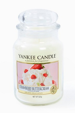 Yankee Candle Large Jar Strawberry Buttercream