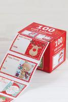 Compare retail prices of 100 Festive Gift Label Dispenser to get the best deal online