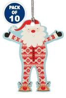 Compare retail prices of 10 Santa Onesie Gift Tags to get the best deal online