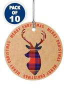 Compare retail prices of 10 Kraft Stag Gift Tags to get the best deal online