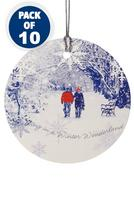 Compare retail prices of 10 Winterscene Gift Tags to get the best deal online