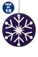 Compare retail prices of 10 Snowflake Gift Tags to get the best deal online