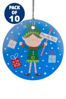 Compare retail prices of 10 Blue Elf Gift Tags to get the best deal online