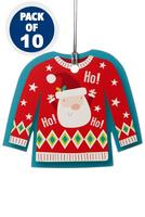 Compare retail prices of 10 Christmas Jumper Gift Tags to get the best deal online
