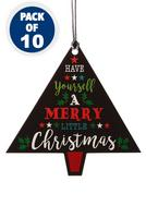 Compare retail prices of 10 Christmas Tree Gift Tags to get the best deal online
