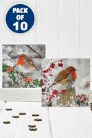 Compare retail prices of 10 Winter Robin Cards to get the best deal online