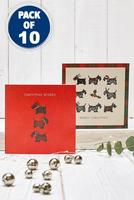 Compare retail prices of 10 Seasonal Scottie Christmas Cards to get the best deal online