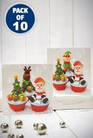 Compare retail prices of 10 Christmas Cupcakes Cards to get the best deal online