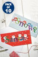 Compare retail prices of 10 Santa and Friends Cards to get the best deal online