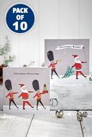 Compare retail prices of 10 Santa and Soldier Christmas Cards to get the best deal online