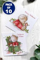 Compare retail prices of 10 Christmas Teddy Cards to get the best deal online