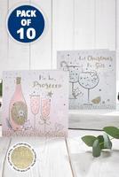 Compare retail prices of 10 Festive Fizz Cards to get the best deal online