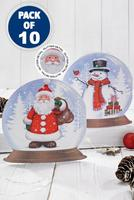 Compare retail prices of 10 Snowglobe Santa and Snowman Cards to get the best deal online