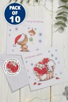 Compare retail prices of 10 Best of Friends Christmas Cards to get the best deal online