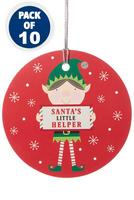 Compare retail prices of 10 Elf Gift Tags to get the best deal online