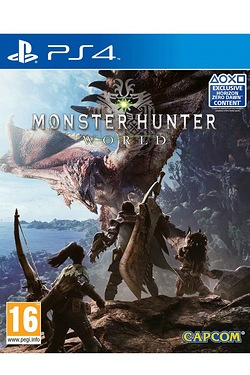 PS4: Monster Hunter World