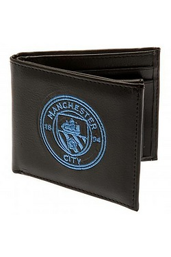 Man City Embroidered Wallet