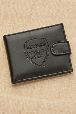 Arsenal Embossed Leather Wallet
